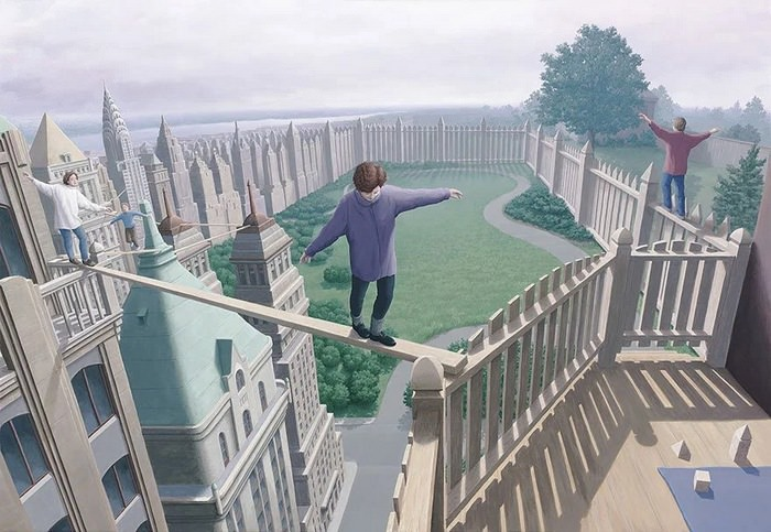 Optical Illusions by Rob Gonsalves