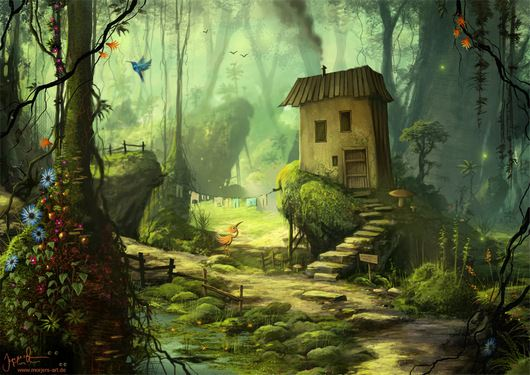 A Home In The Green by Jeremiah Morelli