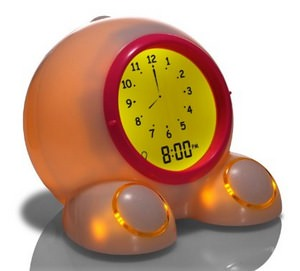 American Innovative Teach Me Time! Talking Alarm Clock and Nightlight