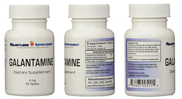 Galantamine Shipped From Usa
