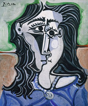 Head of a Woman by Pable Picasso