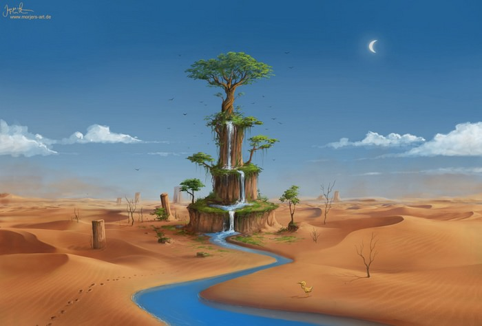 oasis landscape wallpapers archives - photo #29