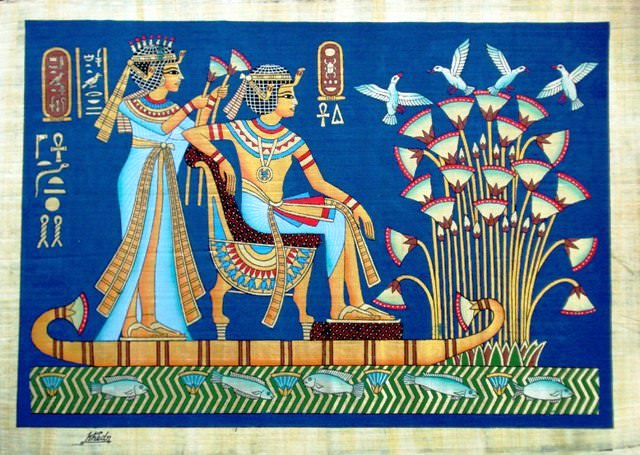 Blue lotus the ancient egyptian dream flower mightylinksfo Images