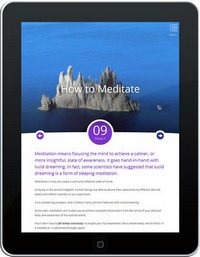Course Excerpt: How to Meditate