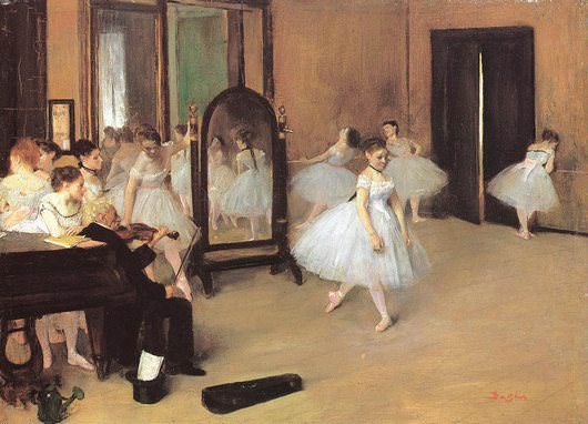 School of Dance by Edgar Degas