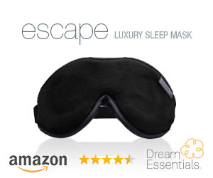 Escape luxury sleep mask