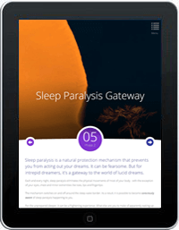 Course Excerpt: The Sleep Paralysis Gatewaye to Lucid Dreams