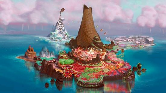 Create Your Own Dreamscape (Candyland from Wreck It Ralph)