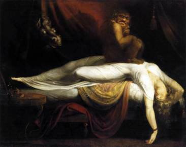 Henry Fuseli's The Nightmare