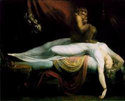 The Nightmare by John Henry Fuseli