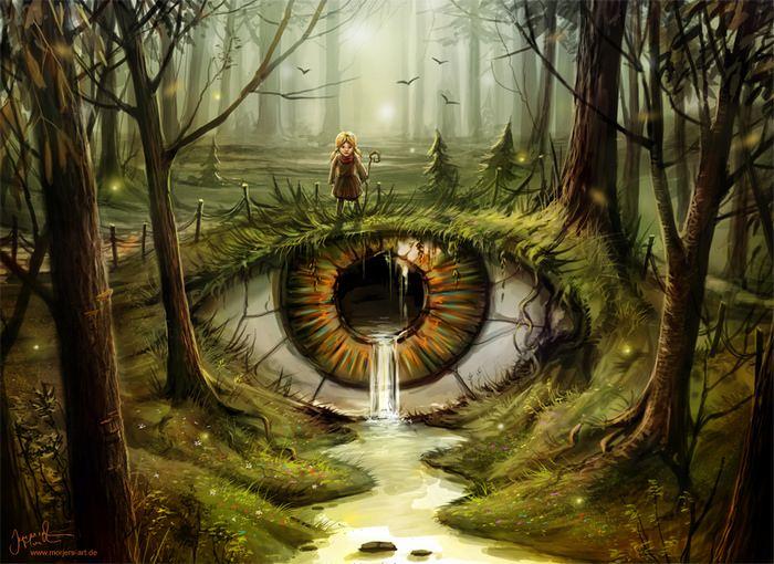 Extraordinary Fantasy Art by Jeremiah Morelli