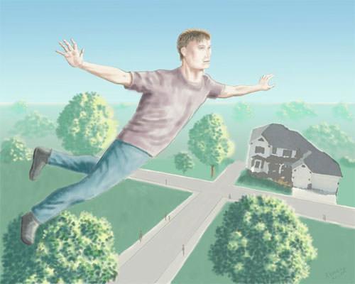 A Lucid Flying Dream By Joseph Kemeny