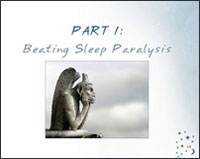 Beating Sleep Paralysis Nightmares