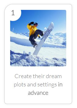 Benefit #1 - Create Dream Plots in Advance