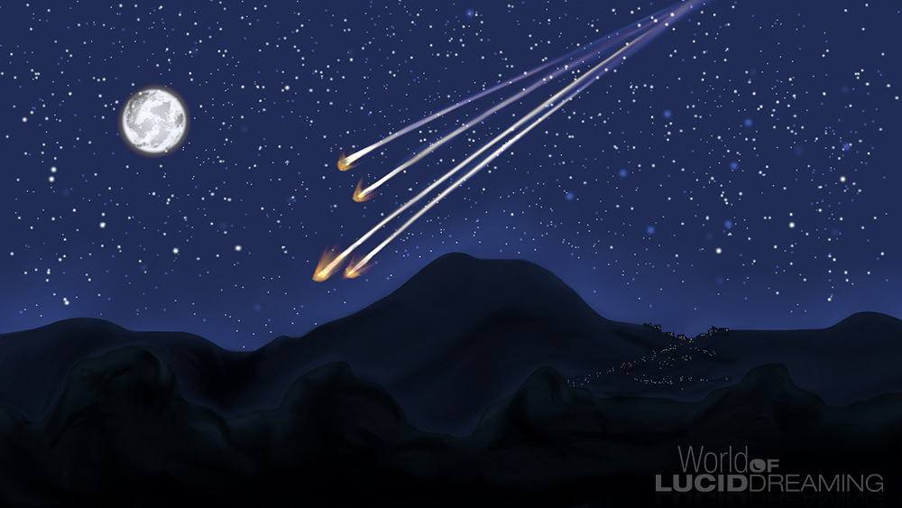 Meteor Shower by Rebecca Turner