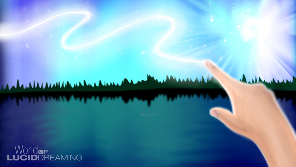 Northern Lights / Sky Painting Lucid Dream