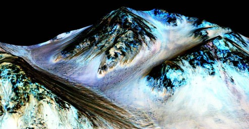 best proof there is such a thing as aliens is water on mars