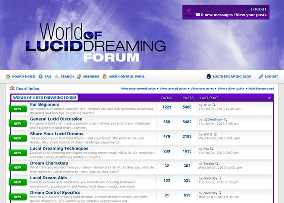 Lucid Dreaming Forums - Your Options in 2019