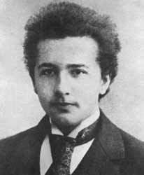 A Young Einstein in 1895